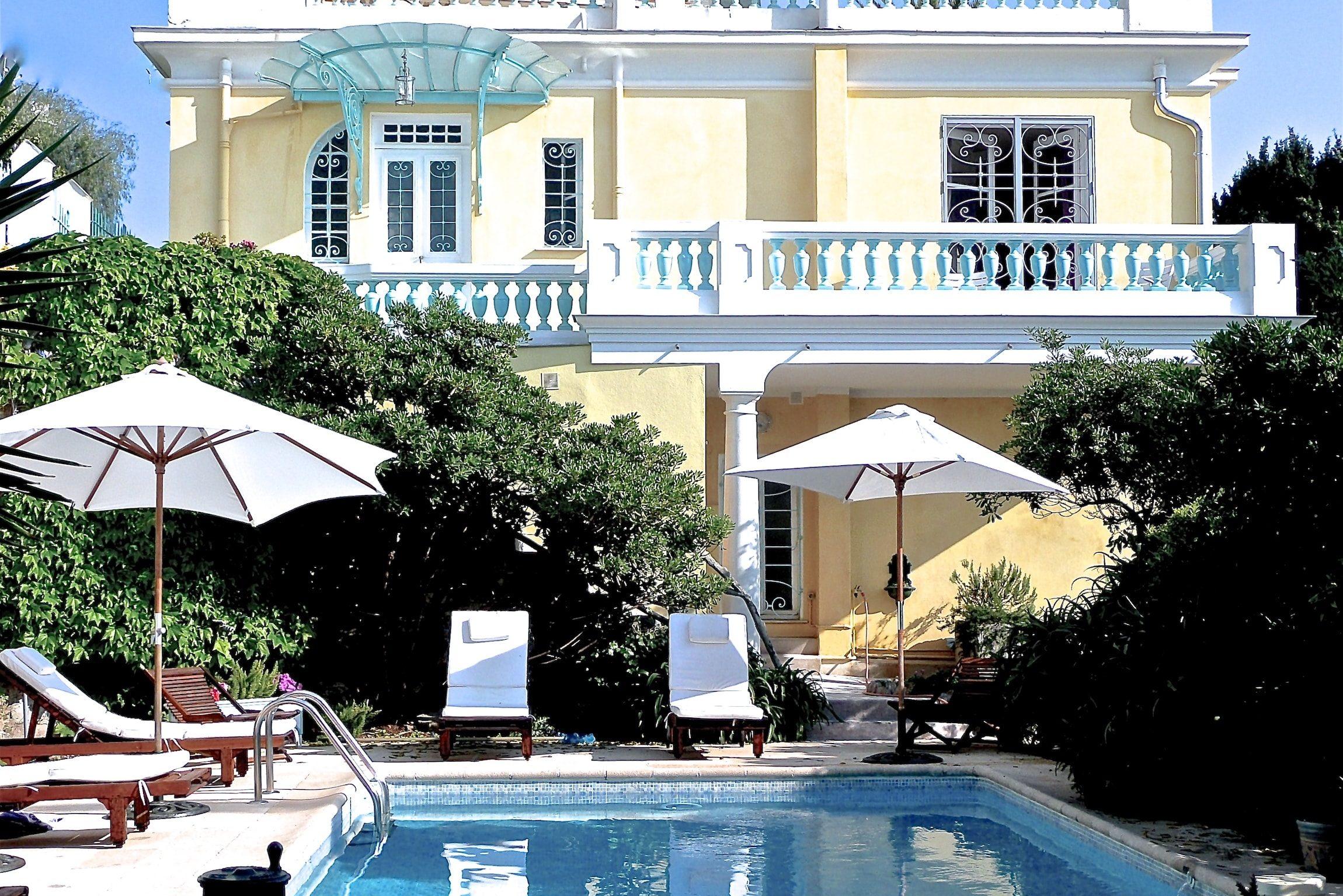 location vacance hotel luxe nice villa dracoena
