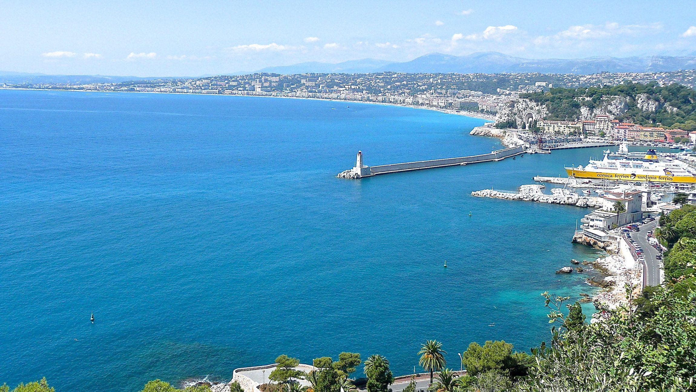 vue baie Nice hebergement luxe